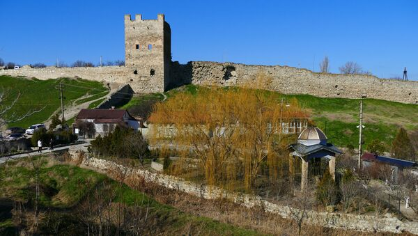 Генуэзская крепость в Феодосии - Sputnik Абхазия