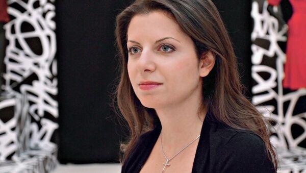 Главный редактор телеканала RT и МИА Россия сегодня Маргарита Симоньян - Sputnik Абхазия
