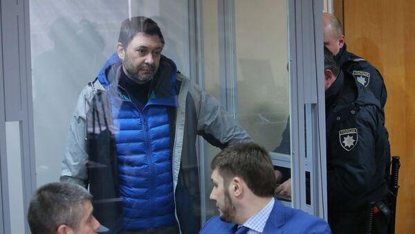 Заседание суда по делу журналиста К.Вышинского - Sputnik Абхазия
