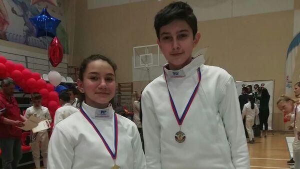 Соревнования по фехтованию  - Sputnik Абхазия