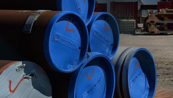 Строительство газопровода Северный поток-2 в Германии - Sputnik Абхазия