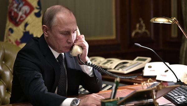 Рабочая поездка президента РФ В. Путина в Санкт-Петербург - Sputnik Абхазия