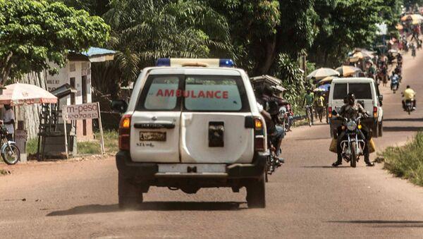 Скорая помощь в Демократической республики Конго. Архивное фото - Sputnik Абхазия