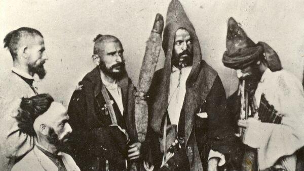 Д.И. Ермаков иусумҭа Абхазы. 1867 ш. - Sputnik Аҧсны