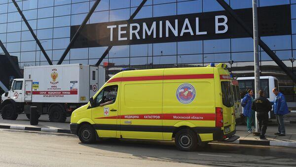 Ситуация в аэропорту Шереметьево - Sputnik Абхазия