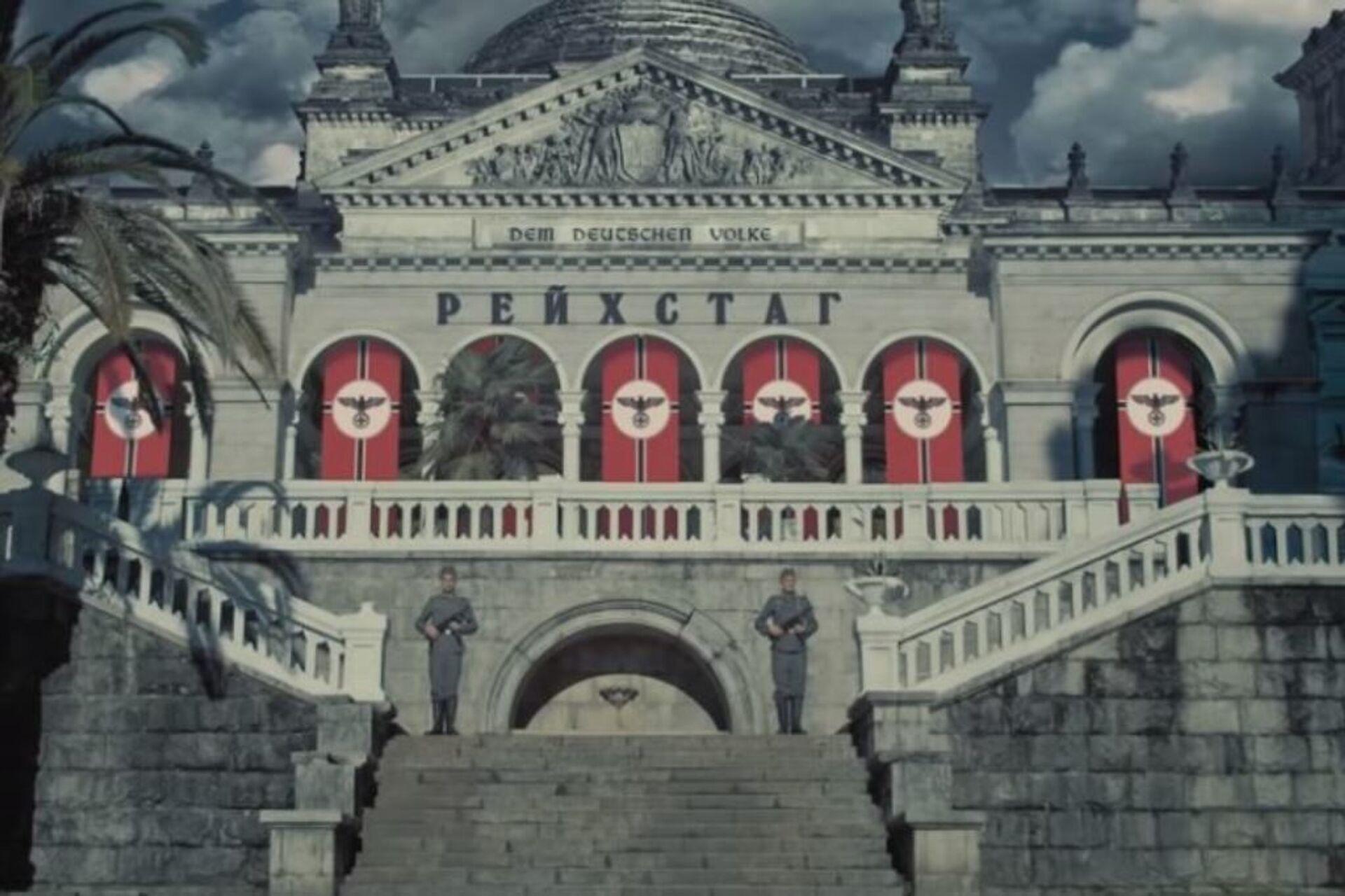 Стоп-кадр из фильма Спасибо деду за Победу - Sputnik Абхазия, 1920, 12.10.2021