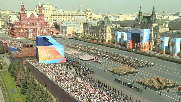 На Красной площади прошла генеральная репетиция парада ко Дню Победы - Sputnik Абхазия