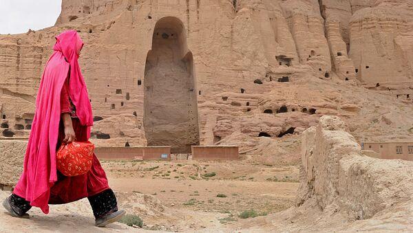 Бамианские статуи Будды, Афганистан, 2010 год - Sputnik Абхазия