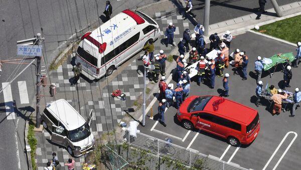 Фото с места происшествия в Японии, 8 мая 2019 - Sputnik Аҧсны