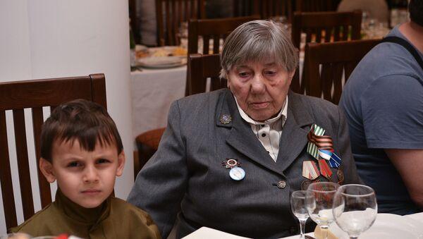 Встреча с ветеранами в Посольстве России - Sputnik Абхазия