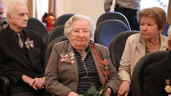 Ветеран ВОВ Мария Глускер  - Sputnik Абхазия