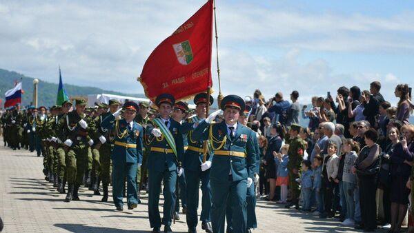Парад в честь празднования Дня Победы в ВОВ, 9 мая 2019 - Sputnik Абхазия