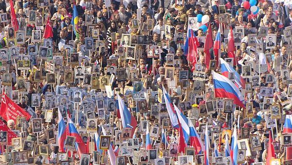 Шествие Бессмертного  полка по миру - Sputnik Абхазия