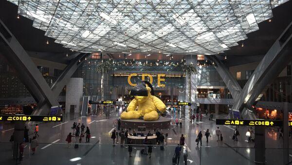 Хамад, аэропорт в Дохе, архивное фото - Sputnik Абхазия