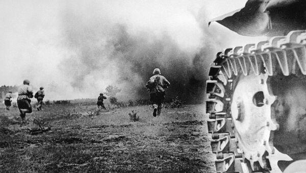 Бойцы Красной Армии идут в бой - Sputnik Абхазия