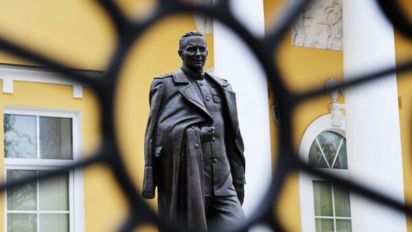 Открытие памятника руководителю советской внешней разведки в годы ВОВ П. Фитину - Sputnik Абхазия
