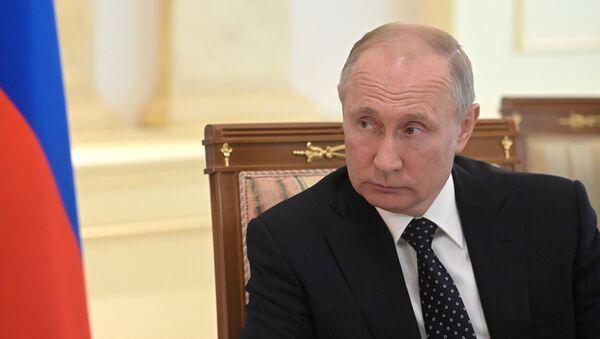 Встреча президента РФ В. Путина с президентом Австрии А. ван дер Белленом - Sputnik Абхазия