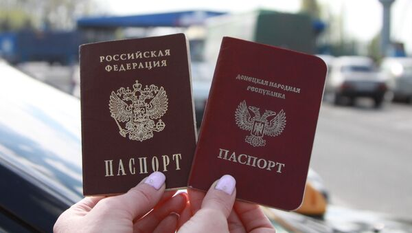 Граждане ЛНР и ДНР смогут получить паспорта РФ по упрощенной процедуре - Sputnik Абхазия