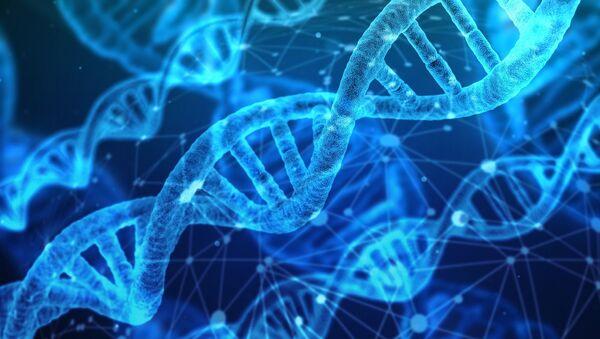 Художественное изображение молекул ДНК - Sputnik Абхазия