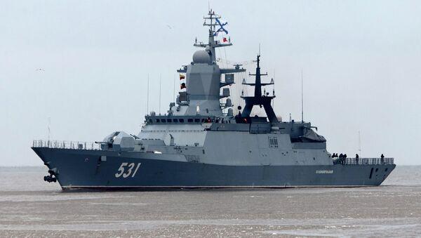Встреча корветов Сообразительный и Бойкий в порту Балтийска - Sputnik Абхазия
