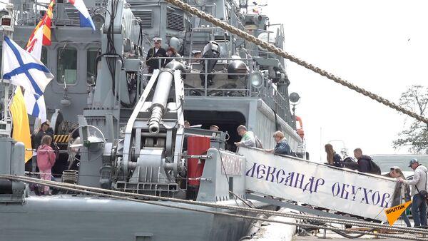 Балтийский флот России отмечает годовщину создания - Sputnik Абхазия