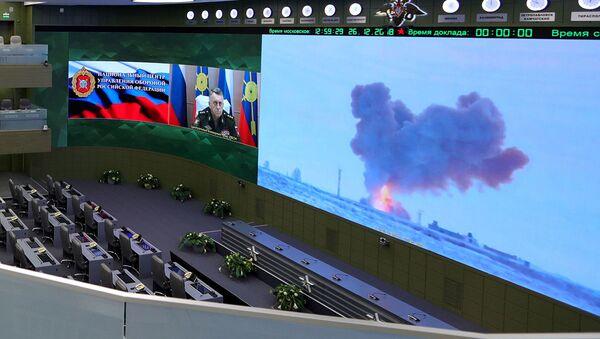 Видеотрансляция пуска ракеты - Sputnik Абхазия