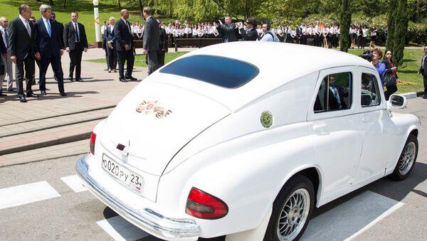 Автомобиль Победа - Sputnik Абхазия