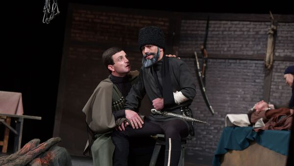 Впервые на сцене: премьера Последнего из ушедших - Sputnik Абхазия