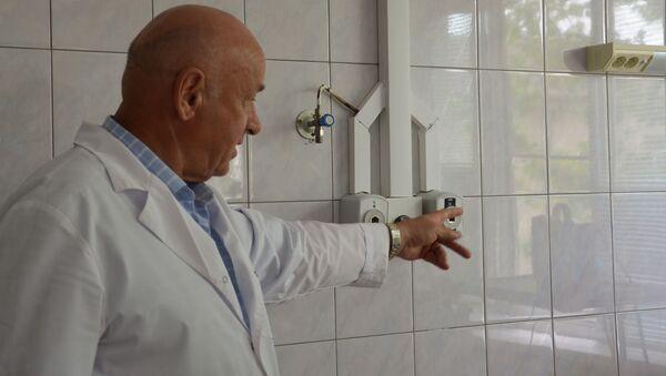 Централизованная система подачи газов установлена в Республиканской больнице  - Sputnik Абхазия
