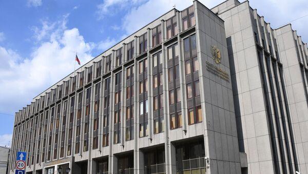 Здание Совета Федерации Федерального Собрания Российской Федерации - Sputnik Абхазия