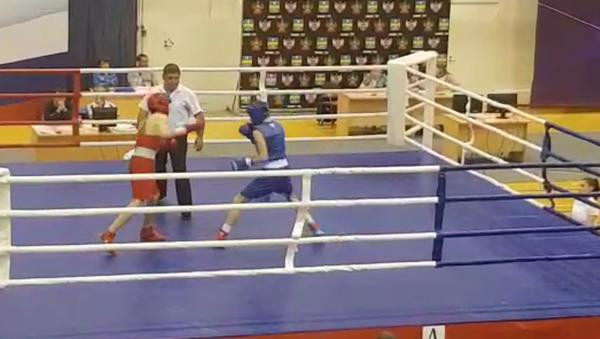 Абхазский боксер Саир Качарава выиграл Первенство России по боксу - Sputnik Аҧсны
