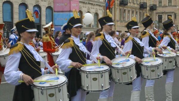 556 барабанщиков из России побили рекорд Гиннесса - Sputnik Абхазия