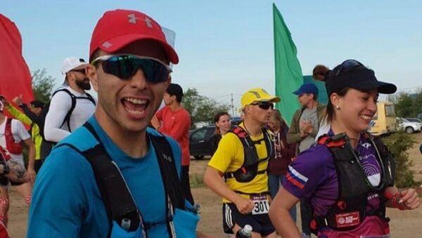 Денис Саманба пробежал сто километров и взял серебро на марафоне в России - Sputnik Аҧсны