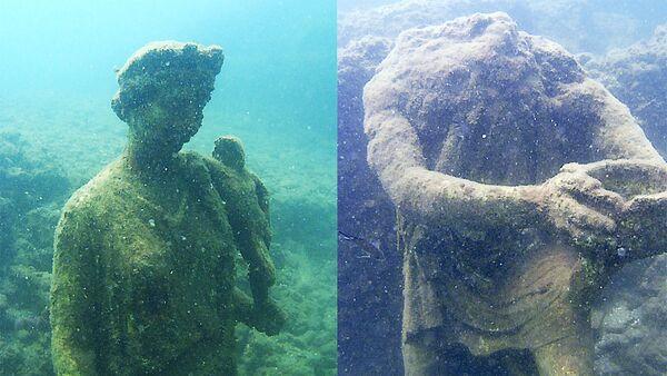 Статуи в Подводном археологическом парке Байя, Италия - Sputnik Абхазия