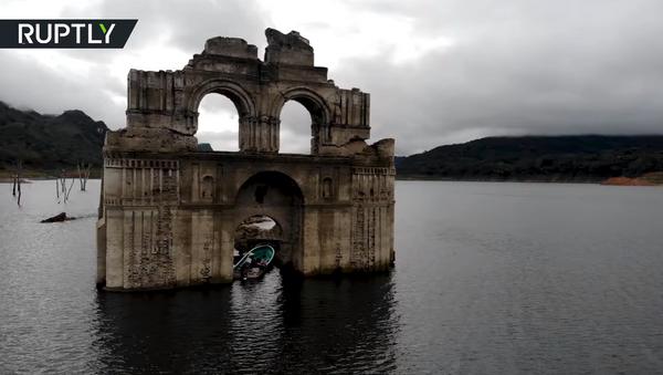 Мексиканская Атлантида: затопленный храм времён конкистадоров показался из воды - Sputnik Абхазия