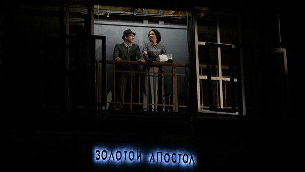 Спектакль Визит старой дамы в РУСДРАМе - Sputnik Абхазия