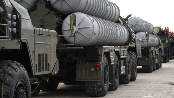Подготовка боевой техники к участию в параде Победы в Калининграде - Sputnik Абхазия