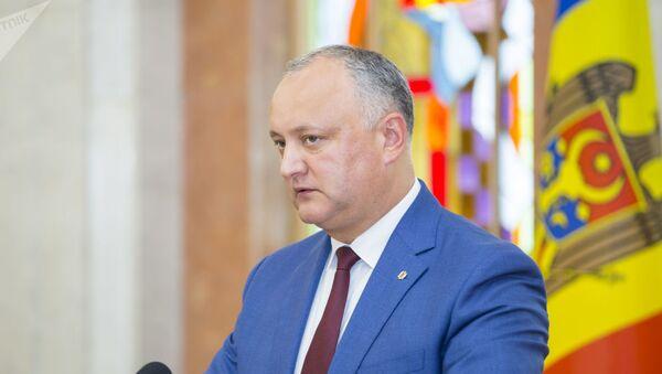 Игорь Додон - Sputnik Абхазия