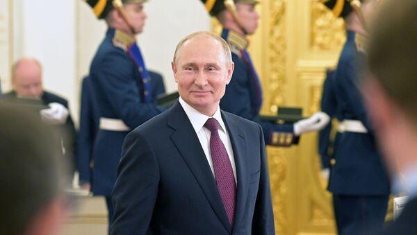 В.В. Путин Кремль Аҳәынҭқарратә ҳамҭақәа риҭеит - Sputnik Аҧсны
