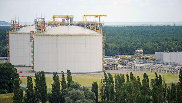 Газовый терминал в Свиноуйсьце - Sputnik Абхазия