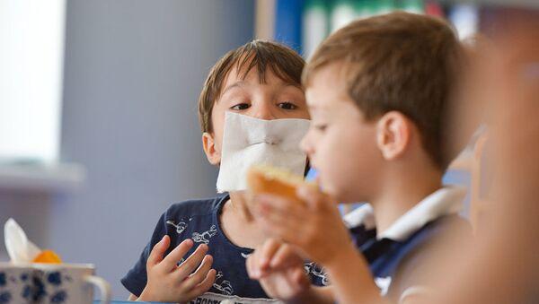 Питание детей в детском саду - Sputnik Абхазия