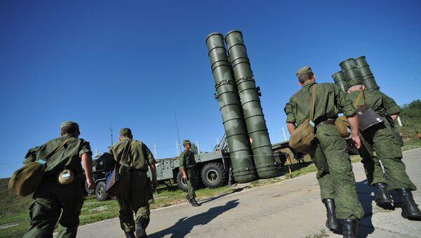 С-400 Триумф охраняет воздушные рубежи Москвы - Sputnik Аҧсны