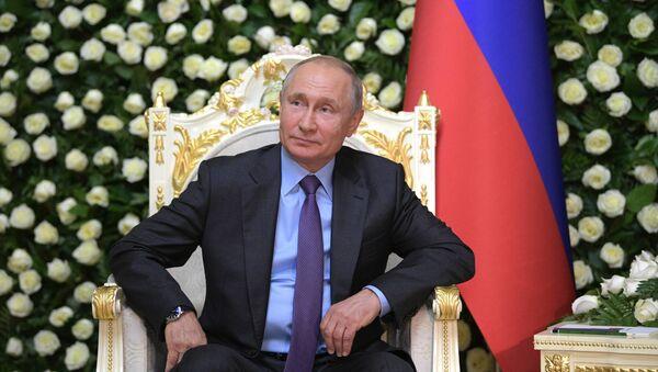 Президент РФ В. Путин прибыл в Душанбе для участия в саммите СВМДА - Sputnik Абхазия
