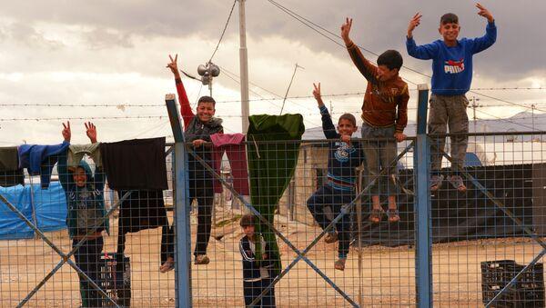 Лагерь беженцев в Ираке - Sputnik Абхазия