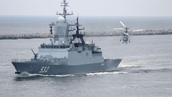 Репетиция военно-морского парада в Балтийске - Sputnik Абхазия