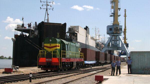 Порт Оля Астраханской области  - Sputnik Абхазия