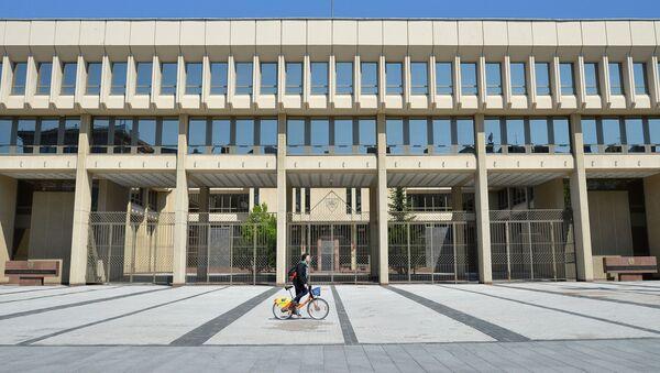 Здание высшего законодательного органа Литвы - Сейм Литовской Республики в Вильнюсе. - Sputnik Абхазия