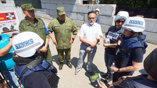 В Донбассе не состоялось запланированное разведение сил - Sputnik Абхазия
