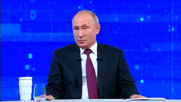 Путин об отношении Запада к России - Sputnik Абхазия