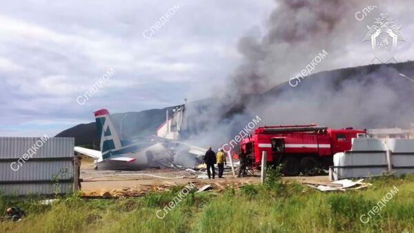 Самолет Ан-24 совершил аварийную посадку в Нижнеангарске - Sputnik Аҧсны